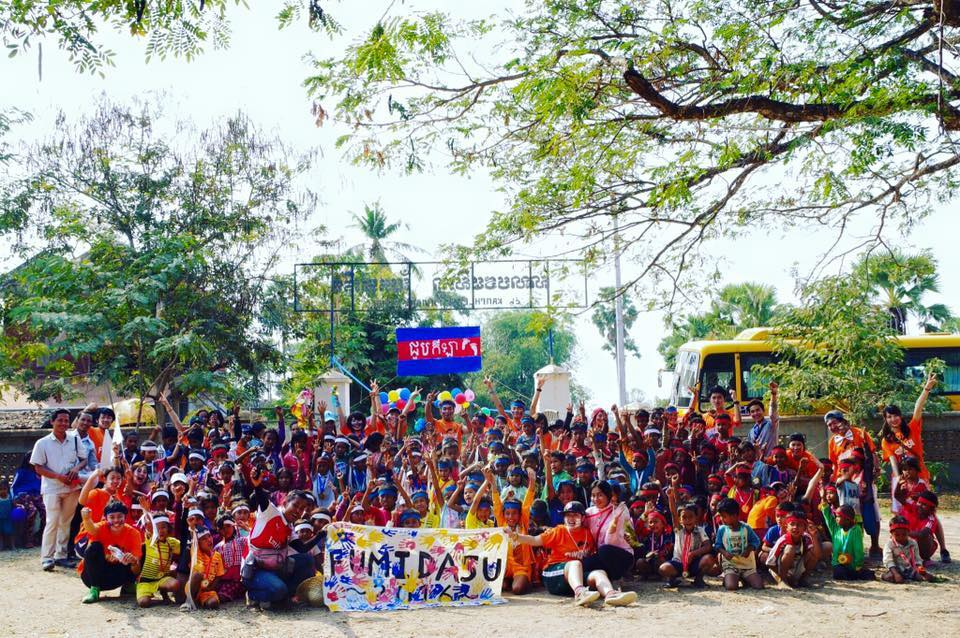 カンボジアでの情操教育支援