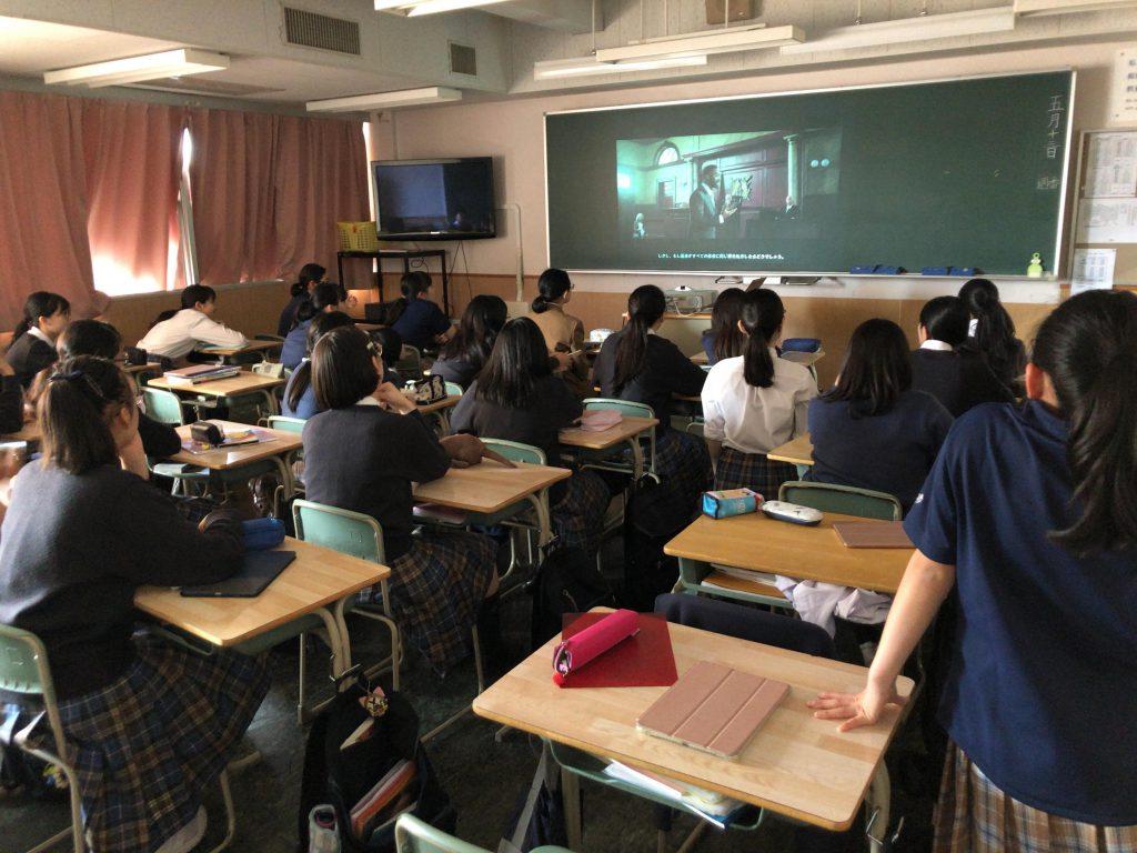 品川女子学院の授業風景